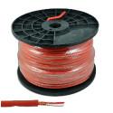 Kabel mikrofonowy stereo 6mm czerwony