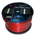 Kabel samochodowy 2Ga OD12mm CU 25m