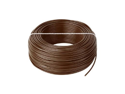 Przewód LgY 1x1 H05V-K brązowy
