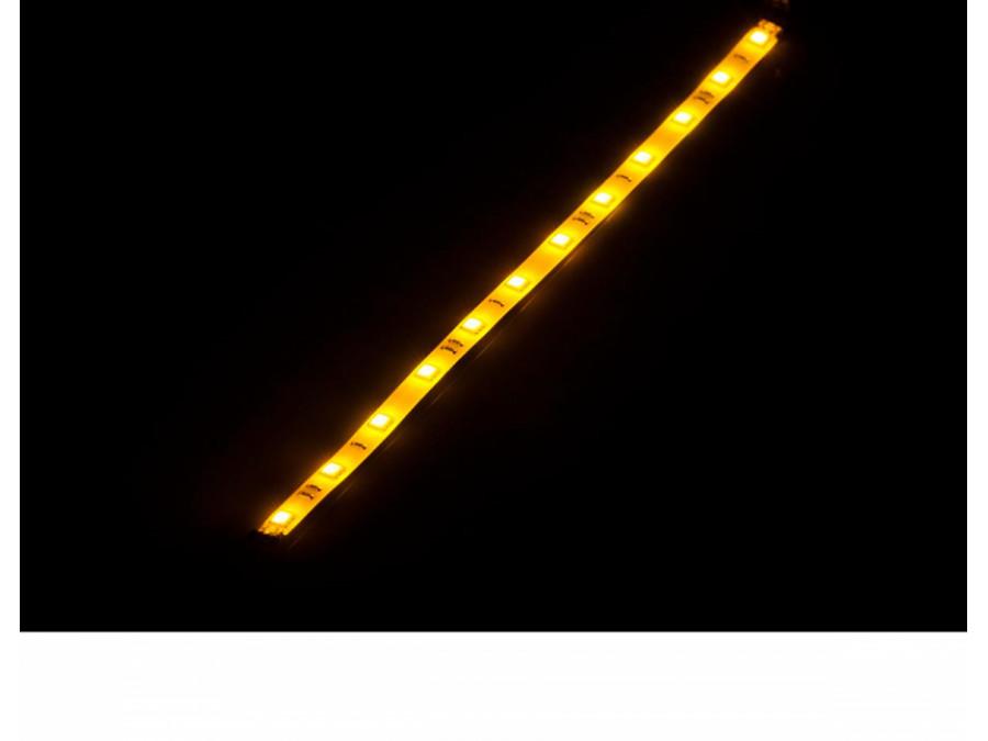 Listwa diodowa giętka 30 cm -żółta (12x 5050 SMD)