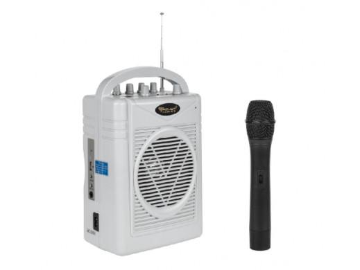 Mikrofon z wzmacniaczem...