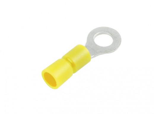 RING TERMINAL YELLOW 8.4mm