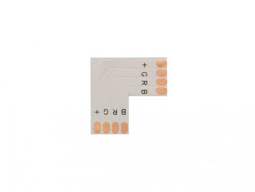 ZŁĄCZE ELASTYCZNE PCB, L-KSZTAŁTNE - 10 mm RGB