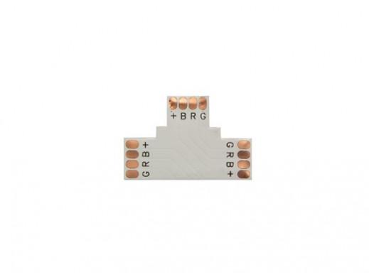 ZŁĄCZE ELASTYCZNE PCB, T-KSZTAŁTNE - 10 mm RGB