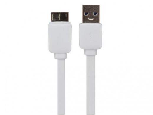 KABEL PŁASKI USB 3.0 /...
