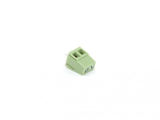 SCREW CONNECTOR PRINT, 2 POLES, CLAMPING TYPE, 5mm PITCH