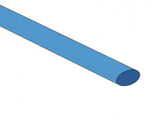 POWŁOKA TERMOKURCZLIWA 2:1 - 6,4mm - NIEBIESKA - 50 SZT.
