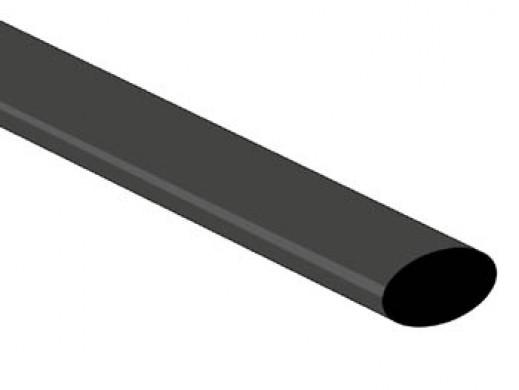 POWŁOKA TERMOKURCZLIWA 2:1 - 9,5mm - CZARNA - 25 SZT.