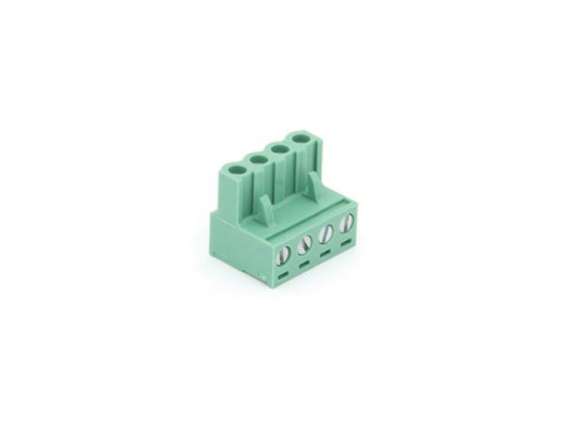 FEMALE SOCKET CONNECTOR - 4 POLES