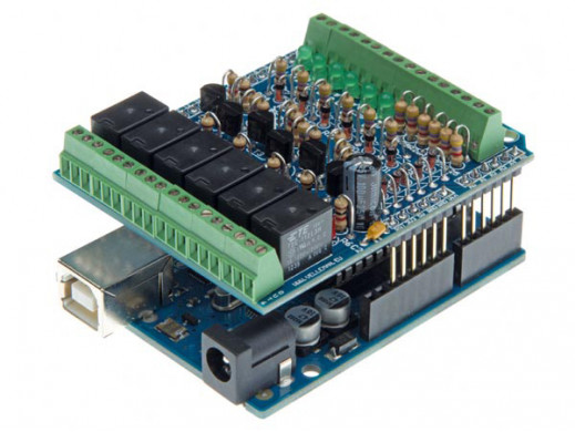 I/O SHIELD DO ARDUINO®