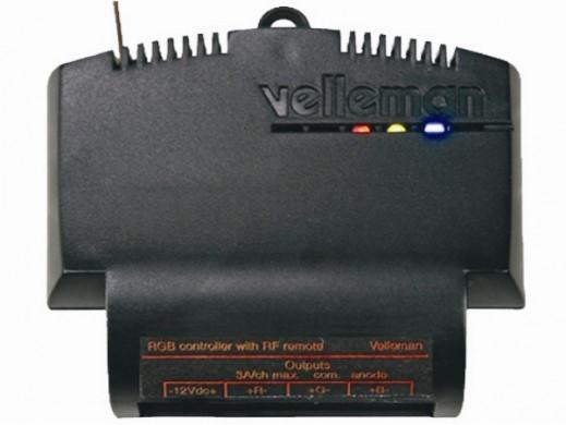 Sterownik RGB do użytku z pilotem pilotem RF