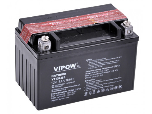 Akumulator VIPOW typ MC do...