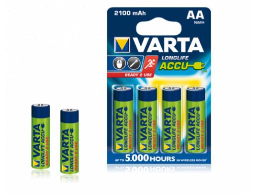 Akumulator VARTA AA 2100mAh 4szt./bl.
