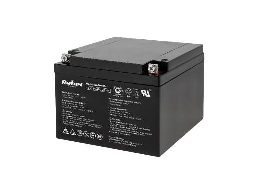 Akumulator żelowy Rebel 12V 24Ah