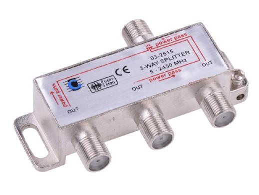 Splitter 3way 5-2450MHz