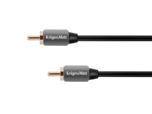 Kabel 1RCA-1RCA 0.5m Kruger&Matz