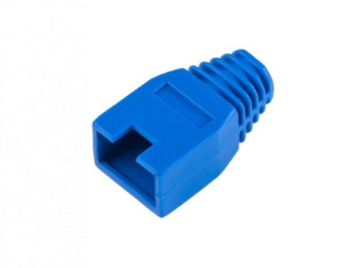 Osłona gumowa wtyku 8p8c niebieska
