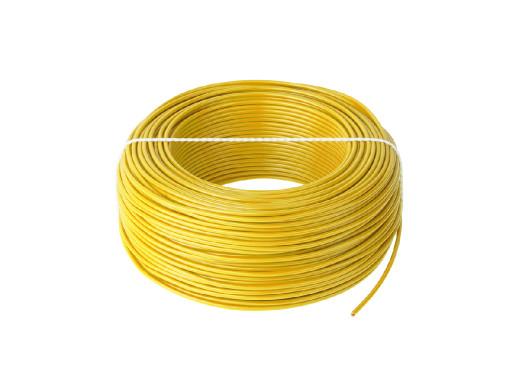 Przewód LgY 1x0,5 H05V-K żółty