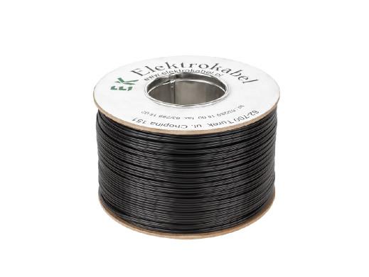 Kabel głośnikowy SMYp 2 x 0,5mm czarny 200m