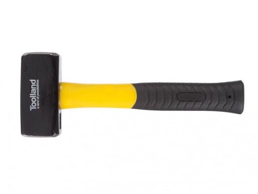 STONE HAMMER - FIBERGLASS HANDLE - 1250 g