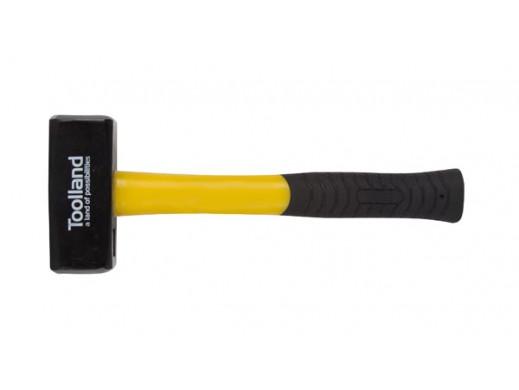 STONE HAMMER - FIBERGLASS HANDLE - 1500 g
