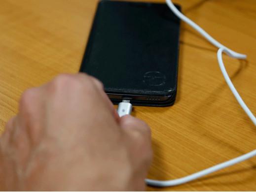 KABEL DO SYNCHRONIZACJI I ŁADOWANIA - ZŁĄCZE USB 2.0 MĘSKIE / 5-PINOWE, MAGNETYCZNE MICRO-USB A - 1 m