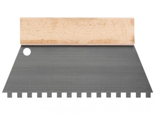SCRAPER - 250 mm - TEETH 8 x 8 mm