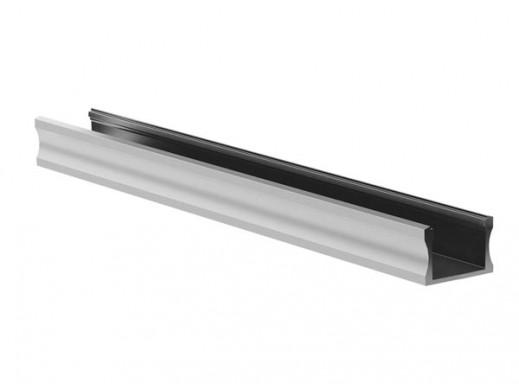 SLIMLINE WIDE - 15 mm - SREBRNY ANODOWANY PROFIL ALUMINIOWY LED - 2 m