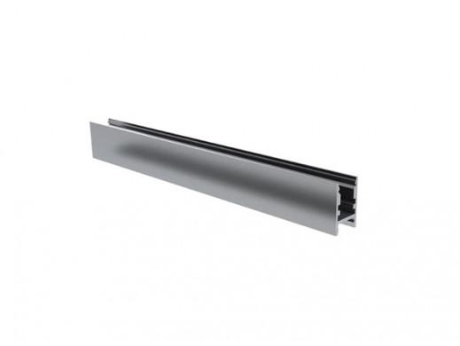 PROFIL OŚWIETLENIOWY ALU-SWISS DO TAŚM LED 6-8 mm, SREBRNY ANODYZOWANY PROFIL ALUMINIOWY LED - 2 m