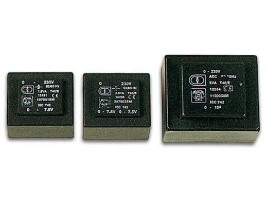 ENCAPSULATED TRANSFORMER 2.5VA 1 x 15V / 1 x 0.167A