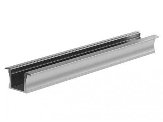 WPUSZCZANY SLIMLINE 15 mm, SREBRNY ANODYZOWANY, PROFIL ALUMINIOWY LED - 2 m