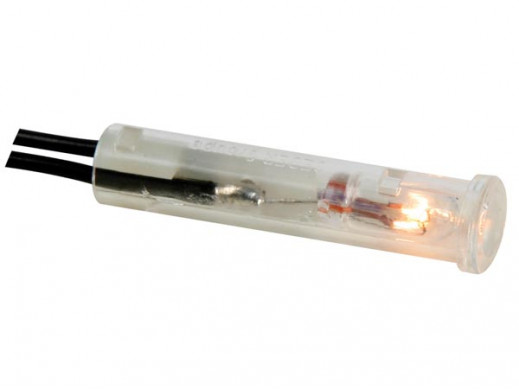 ROUND 7mm PANEL CONTROL LAMP 220V CRYSTAL