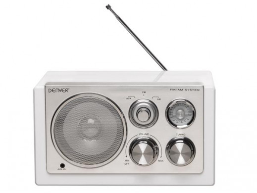 TR-61WHITE - RADIO SMART...