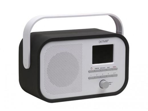 DAB-40BLACK - RADIO DAB+/FM...