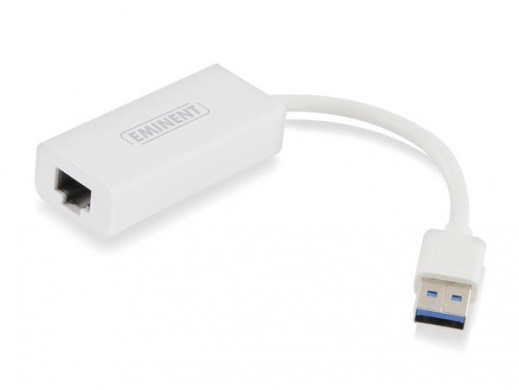 EMINENT - GIGABIT NETWORK ADAPTER USB 3.0 - UP TO 1000 MBPS
