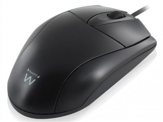 EWENT - OPTICAL MOUSE PS/2 AND USB