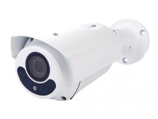 KAMERA HD CCTV - HD-TVI - ZEWNĘTRZNA - TYPU BULLET - IR - OBIEKTYW ZMIENNOOGNISKOWY Z NAPĘDEM SILNIKOWYM -1080P - KOLOR BIAŁY