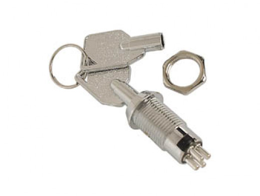 Wyłącznik na klucz 1P On-On