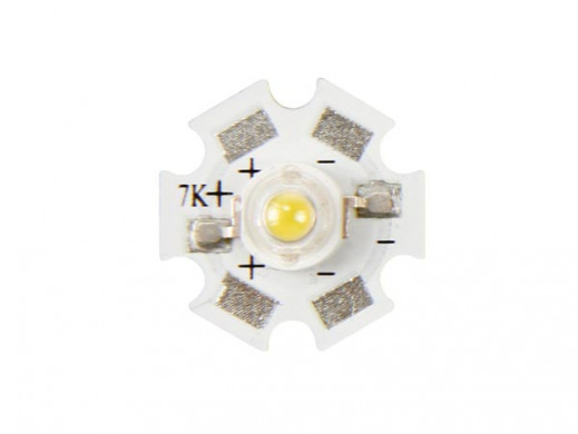 HIGH POWER LED - 3 W - COLD...