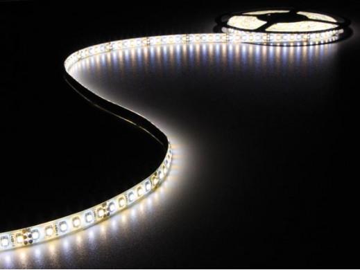 TAŚMA Z OŚWIETLENIEM LED - BIAŁY ZIMNY I CIEPŁY - 600 LED - 5m - 12V