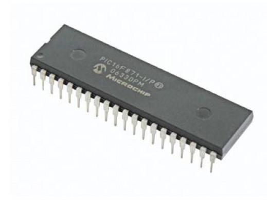 40PIN 8-BIT CMOS FLASH MICROCONTROLLER