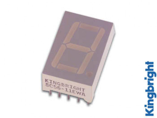 14mm SINGLE-DIGIT DISPLAY COMMON ANODE