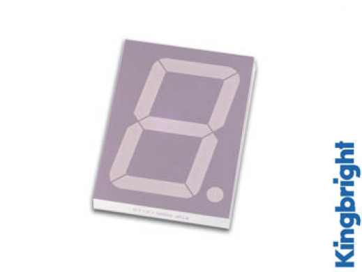 57mm SINGLE-DIGIT DISPLAY COMMON CATHODE RED