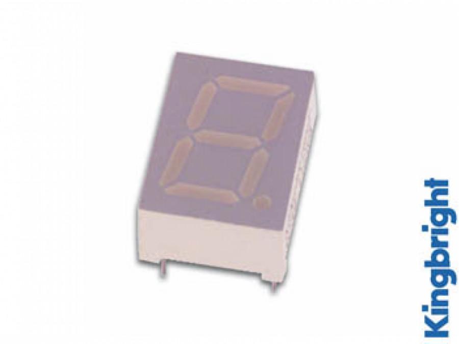 10mm SINGLE-DIGIT DISPLAY COMMON CATHODE GREEN