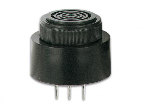 MAGNETIC BUZZER 6-28 VDC FAST-ON TYPE