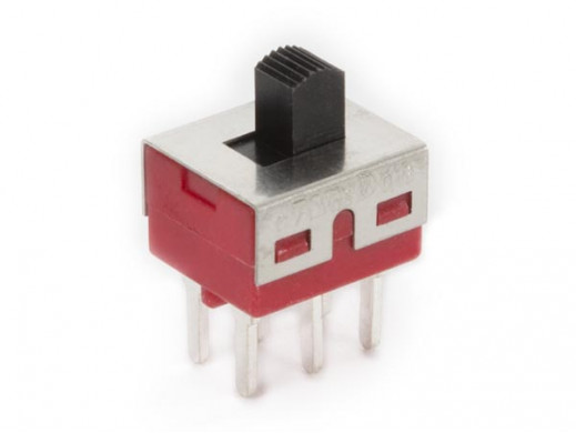 SLIDE SWITCH 2P ON-ON - PCB MOUNTING