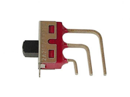 SLIDE SWITCH ON-OFF-ON