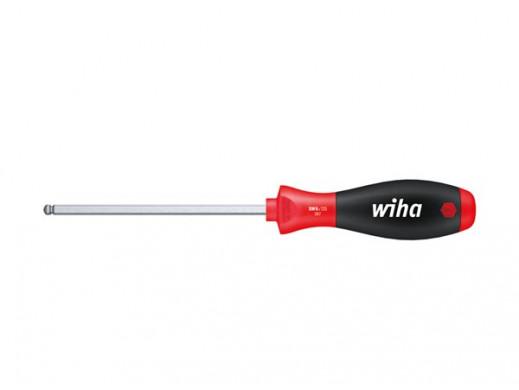 Wiha Wkretak SoftFinish szesciokatny z glówka kulista, z trzonem szesciokatnym (26305) 2,5 x 100 mm