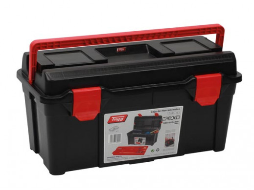 TAYG - TOOL BOX - 580 x 285 x 290 mm - WITH TRAY