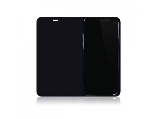 """""""Material Pure"""" BOOKLET GSM Apple iPhone X, """"DARK NAVY"""""""